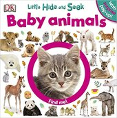 Книга Little Hide and Seek Baby Animals