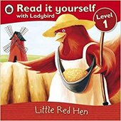 Little Red Hen - Read it yourself with Ladybird : Level 1 - фото обкладинки книги