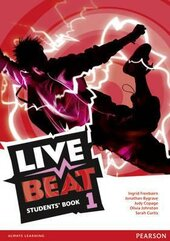 Live Beat 1 Students' Book (підручник) - фото обкладинки книги