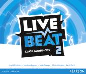 Live Beat 2 Class Audio CD's (аудіодиск) - фото обкладинки книги