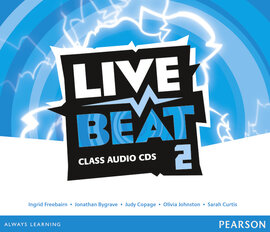 Live Beat 2 Class Audio CD's (аудіодиск) - фото книги