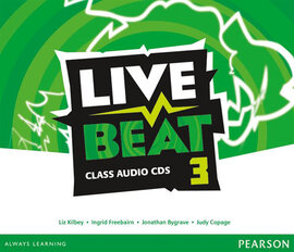 Live Beat 3 Class Audio CD's (аудіодиск) - фото книги