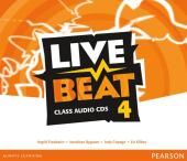 Live Beat 4 Class Audio CD's (аудіодиск) - фото обкладинки книги