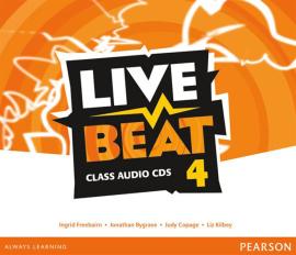 Live Beat 4 Class Audio CD's (аудіодиск) - фото книги