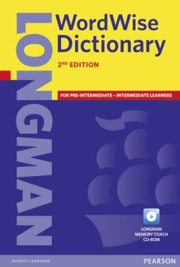 Longman Wordwise Dictionary (словник+аудіодиск) - фото книги
