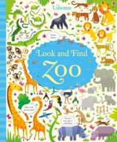 Look and Find Zoo - фото обкладинки книги