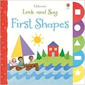 Look and Say. First Shapes - фото обкладинки книги