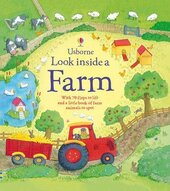 Look Inside a Farm - фото обкладинки книги