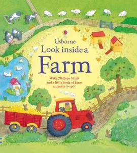 Look Inside a Farm - фото книги
