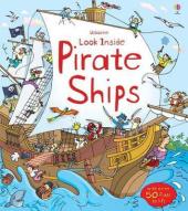 Look Inside a Pirate Ship - фото обкладинки книги