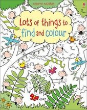 Lots of Things to Find and Colour - фото обкладинки книги