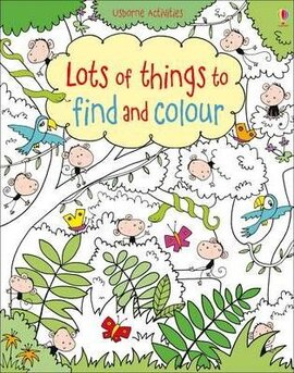 Книга Lots of Things to Find and Colour