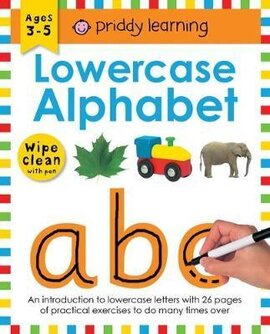 Lowercase Alphabet. Wipe Clean Workbooks - фото книги