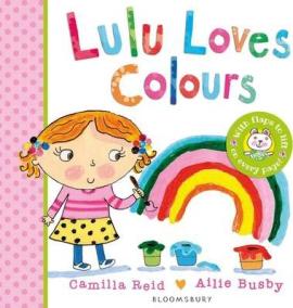Lulu Loves Colours - фото книги