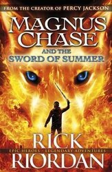 Magnus Chase and the Sword of Summer (Book 1) - фото обкладинки книги