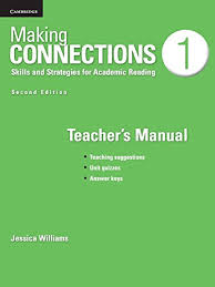 Making Connections Low Intermediate Teacher's Manual : A Strategic Approach to Academic Reading and Vocabulary - фото книги