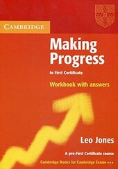Making Progress to First Certificate Workbook with Answers - фото обкладинки книги
