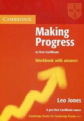 Аудіодиск Making Progress to First Certificate Workbook with Answers