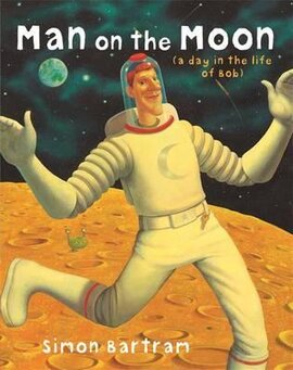 Man on the Moon: a day in the life of Bob - фото книги