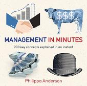 Management in Minutes - фото обкладинки книги