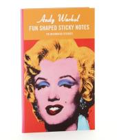 Marilyn Shaped Sticky Notes - фото обкладинки книги