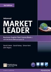 Market Leader 3rd Edition Advanced Flexi Student Book 1+ DVD + CD (підручник) - фото обкладинки книги