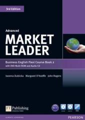 Market Leader 3rd Edition Advanced Flexi Student Book 2 + DVD + CD (підручник) - фото обкладинки книги