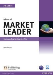 Market Leader 3rd Edition Advanced Practice File+CD (робочий зошит) - фото обкладинки книги
