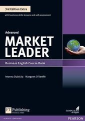 Market Leader 3rd Edition Advanced Student Book + DVD Lab (підручник) - фото обкладинки книги