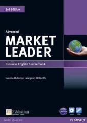 Market Leader 3rd Edition Advanced Student Book + DVD (підручник) - фото обкладинки книги