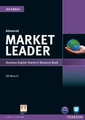 Market Leader 3rd Edition Advanced Teacher's Resource Book + Test Master CD (книга вчителя) - фото обкладинки книги
