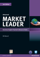 Market Leader 3rd Edition Advanced Teacher's Resource Book + Test Master CD (книга вчителя) - фото обкладинки книги