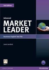 Market Leader 3rd Edition Advanced Test File - фото обкладинки книги