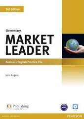 Market Leader 3rd Edition Elementary Practice File+CD - фото обкладинки книги