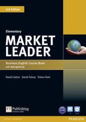 Market Leader 3rd Edition Elementary Student Book + DVD + Lab (підручник) - фото обкладинки книги