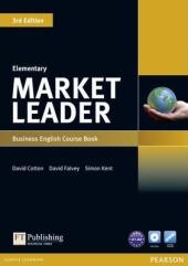 Market Leader 3rd Edition Elementary Student Book + DVD (підручник) - фото обкладинки книги