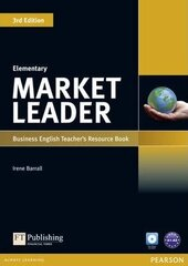 Market Leader 3rd Edition Elementary Teacher's Resource Book + Test Master CD - фото обкладинки книги