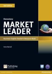 Market Leader 3rd Edition Elementary Teacher's Resource Book + Test Master CD - фото обкладинки книги