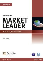Market Leader 3rd Edition Intermediate Practice File+CD - фото обкладинки книги