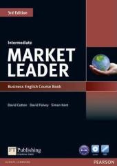 Market Leader 3rd Edition Intermediate Student Book + DVD (підручник) - фото обкладинки книги