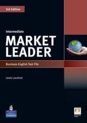 Market Leader 3rd Edition Intermediate Test File - фото обкладинки книги