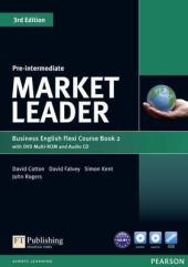 Market Leader 3rd Edition Pre-Intermediate Flexi Student Book 2 + DVD + CD (підручник) - фото обкладинки книги