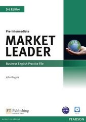 Market Leader 3rd Edition Pre-Intermediate Practice File+CD - фото обкладинки книги