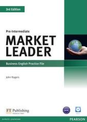 Market Leader 3rd Edition Pre-Intermediate Practice File+CD - фото обкладинки книги
