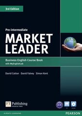 Market Leader 3rd Edition Pre-Intermediate Student Book + DVD + Lab (підручник) - фото обкладинки книги