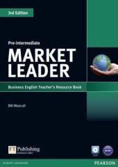 Market Leader 3rd Edition Pre-Intermediate Teacher's Resource Book + Test Master CD (книга вчителя) - фото обкладинки книги
