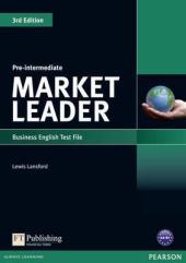 Market Leader 3rd Edition Pre-Intermediate Test File - фото обкладинки книги