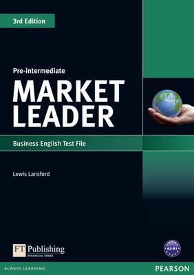Посібник Market Leader 3rd Edition Pre-Intermediate Test File