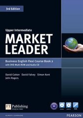 Market Leader 3rd Edition Upper-Intermediate Flexi Student Book 2 + DVD + CD (підручник) - фото обкладинки книги