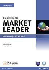 Market Leader 3rd Edition Upper-Intermediate Practice File+CD (робочий зошит) - фото обкладинки книги